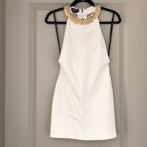 bebe Dresses - STUNNING BeBe embellished bodycon Dress Small